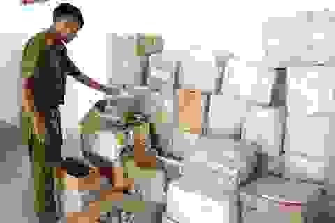 Phát hiện điểm tập kết số lượng lớn thuốc bảo vệ thực vật nhập lậu