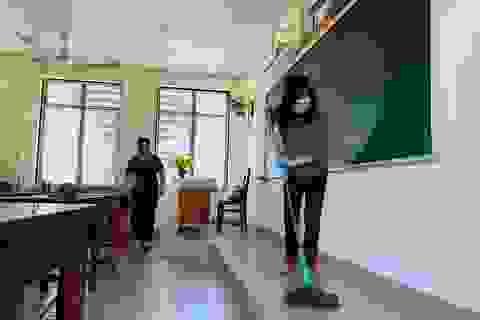 """Giáo viên Đà Nẵng """"vui như Tết"""" khi dọn sạch trường, lớp chờ đón học sinh"""