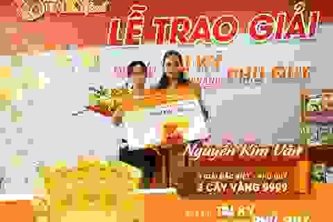 """Hơn 8 cây vàng 9999 dành cho khách hàng """"MUA BỘT TÀI KÝ- RINH VÀNG PHÚ QUÝ"""""""