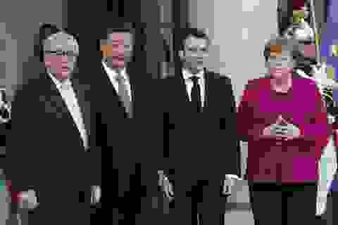Lãnh đạo EU có thể nêu vấn đề Biển Đông với ông Tập Cận Bình
