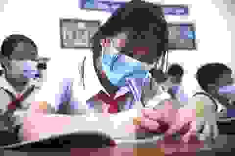 Ngày đầu học sinh Đà Nẵng đến trường: Siết chặt phòng, chống dịch Covid-19