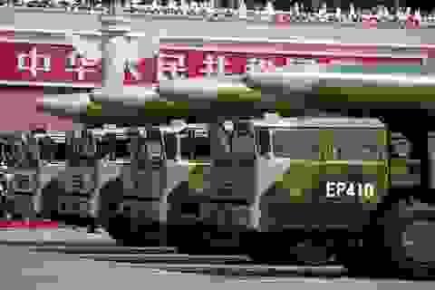 Mỹ công bố báo cáo về binh lực của Trung Quốc