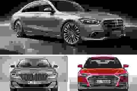 Chọn xe cho nhà giàu: Audi A8, BMW 7-Series, hay Mercedes S-Class mới?