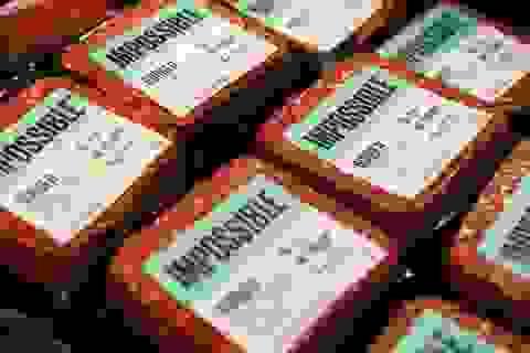 Thịt giả bùng nổ trên thị trường Trung Quốc