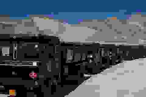 Ấn Độ ồ ạt đưa vật tư tới gần biên giới Trung Quốc