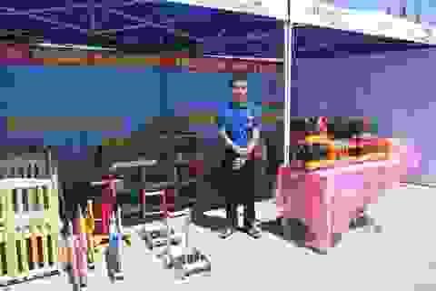 Học nghề cơ khí, chàng trai quê lúa tự mở công ty sản xuất đồ chơi