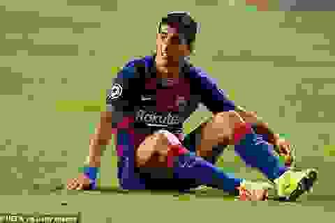 Luis Suarez tức giận vì bị Barcelona ngăn sang Atletico