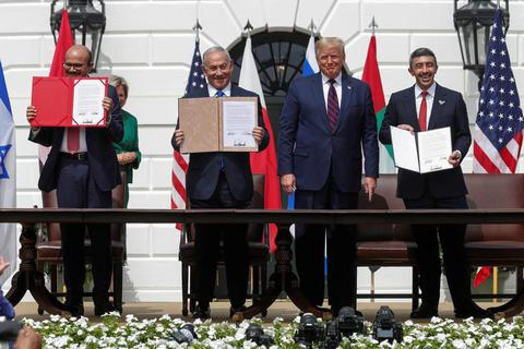 Israel - UAE - Bahrain ký thỏa thuận lịch sử tại Nhà Trắng