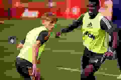 Pogba, Greenwood trở lại tập luyện cùng Man Utd