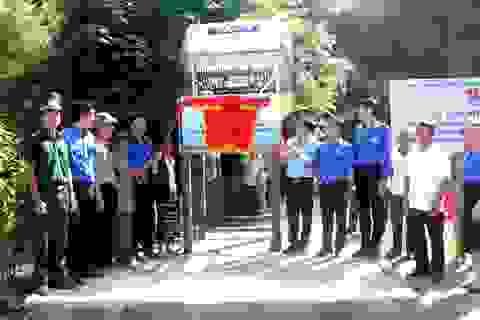 Xây dựng công trình nước sạch hỗ trợ đồng bào dân tộc nơi biên giới