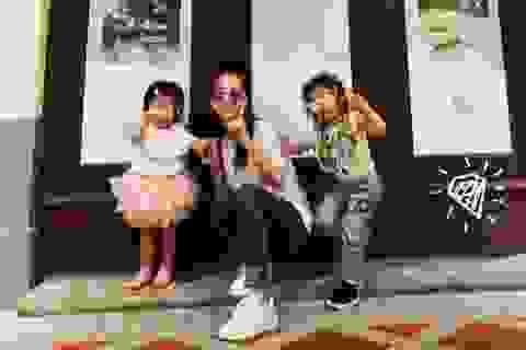 """Hai con gái đáng yêu của """"thiên vương"""" Quách Phú Thành"""