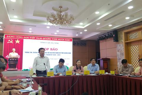 Đại hội Đảng bộ tỉnh Quảng Ninh diễn ra trong các ngày 25 - 27/9