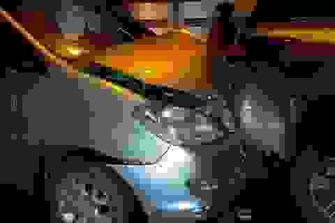Tai nạn giao thông liên hoàn trên cầu Rạch Miễu khiến ùn tắc cả cây số