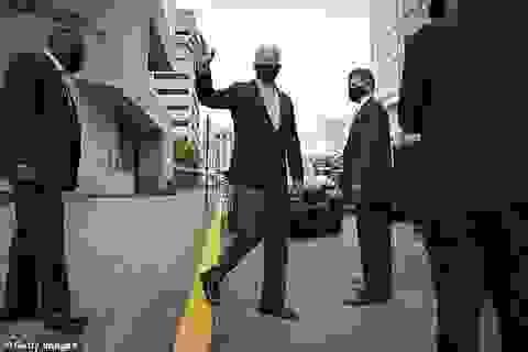 """Chiến dịch tranh cử của ông Biden được bảo vệ bằng """"bong bóng khử trùng"""""""
