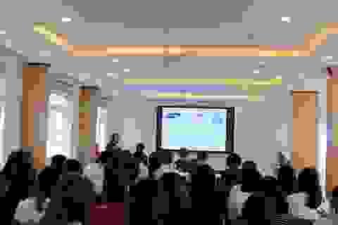 ĐH Ngoại ngữ - ĐHQGHN khánh thành phòng học do đối tác Hàn Quốc tài trợ