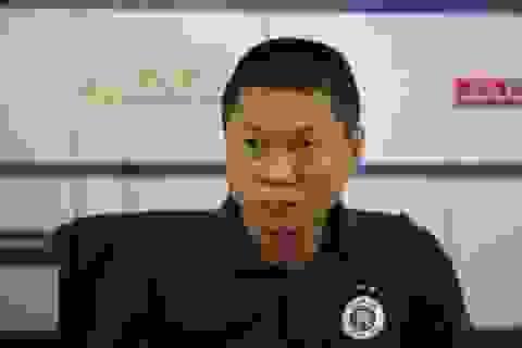 HLV Chu Đình Nghiêm chỉ sợ… trời mưa ở trận đấu với CLB Viettel