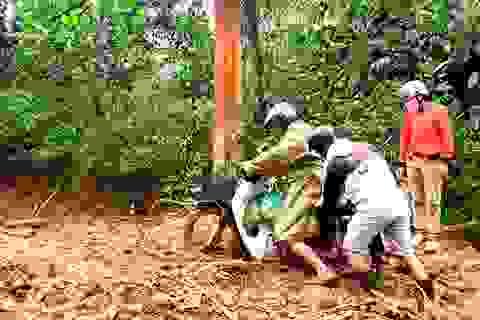Huyện miền núi Quảng Nam ngổn ngang sau bão số 5
