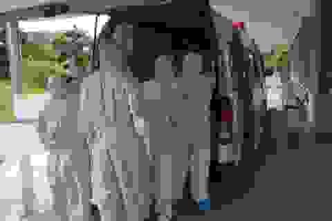 Chuyển bệnh nhân 416 về Bệnh viện Đà Nẵng
