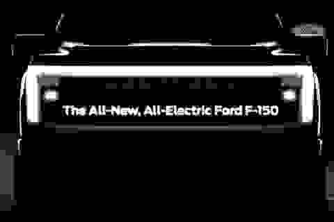 Ford gây bất ngờ với hình ảnh nhá hàng F-150 phiên bản chạy điện