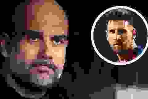 Guardiola lên tiếng sau khi Man City mua hụt Messi