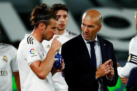 HLV Zidane nói gì sau khi Gareth Bale rời khỏi Madrid?
