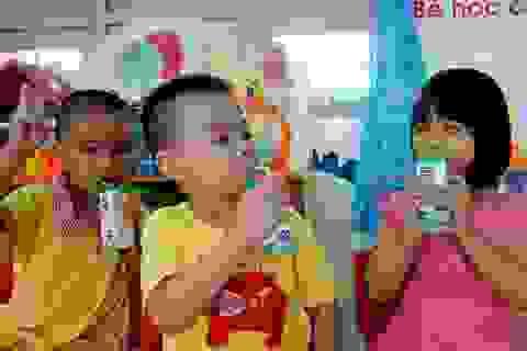 Năm học mới, Bình Định tích cực triển khai sữa học đường