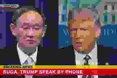 Thủ tướng Nhật nhấn mạnh liên minh với Mỹ trong điện đàm với ông Trump
