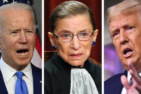 Cuộc đấu Trump - Biden nóng rực sau cái chết của nữ thẩm phán