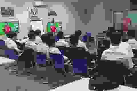 Các đội tham dự giải bóng đá Sinh viên SV-League được tập huấn luật