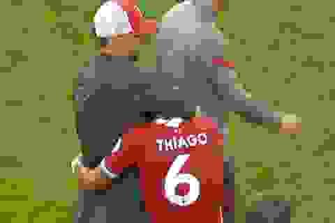 Tân binh Thiago lập kỷ lục ngay trong ngày ra mắt Liverpool
