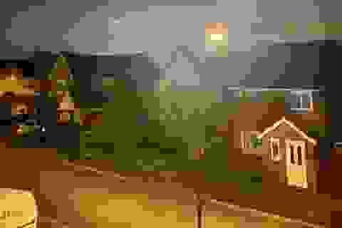 Phát hiện đĩa bay phát sáng màu xanh, nghi người ngoài hành tinh đổ bộ tới Anh