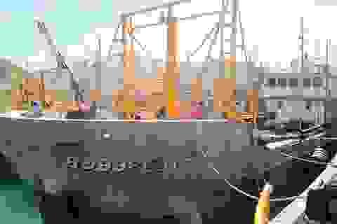 Hàng chục tàu vỏ thép tiếp tục nằm bờ vì không mua được bảo hiểm