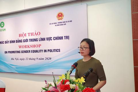 Việt Nam hiện có 3 uỷ viên Bộ Chính trị và Chủ tịch Quốc hội là nữ giới
