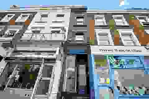 """Căn nhà mỏng nhất ở  London được chào bán giá """"sốc"""" 1,3 triệu USD"""