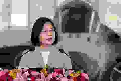 Lãnh đạo Đài Loan thăm căn cứ quân sự giữa lúc căng thẳng