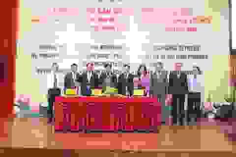 Lễ ký kết Biên bản ghi nhớ hợp tác giữa Bộ Công thương - tỉnh Bắc Ninh - Samsung Việt Nam
