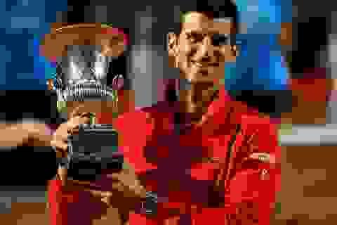 Hiệu suất khủng khiếp của Djokovic ở khả năng thâu tóm danh hiệu