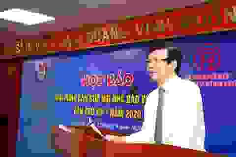 Hơn 200 tay vợt tranh tài ở giải bóng bàn Hội nhà báo Việt Nam
