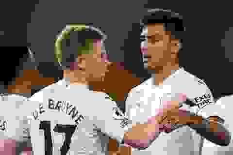Man City phục thù thành công trước Wolves
