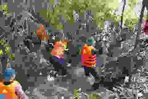 Tìm thấy thi thể người phụ nữ bị rớt xuống cống trong mưa lớn