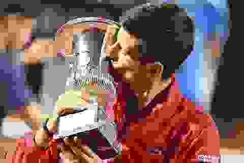 Nực cười chuyện tiền thưởng của Djokovic ở giải Rome Masters