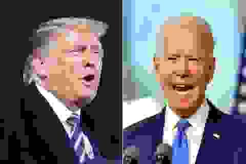 """Ông Trump mỉa mai ông Biden """"đeo khẩu trang để che phẫu thuật thẩm mỹ"""""""