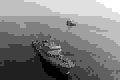 """Trung Quốc tập trận """"phá rào"""" thủy lôi phòng thủ của Đài Loan"""