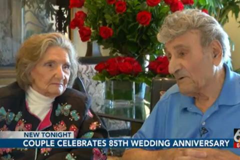 Cuộc hôn nhân 85 năm của cặp vợ chồng trăm tuổi