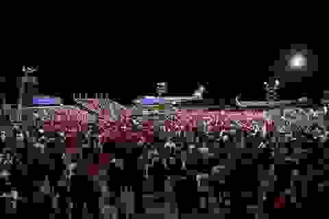 """Những """"chiến binh đỏ"""" ủng hộ Tổng thống Trump tái tranh cử"""