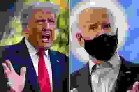 """Trump - Biden chạy nước rút trước màn """"so găng"""" đầu tiên"""