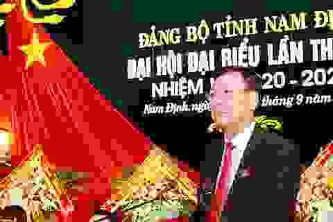 Ông Đoàn Hồng Phong tái cử Bí thư Tỉnh uỷ Nam Định