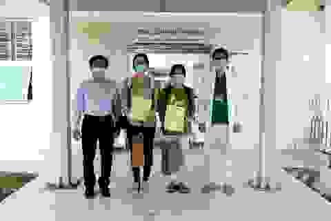 Bệnh nhân tái dương tính SARS-CoV-2 ở Quảng Nam xuất viện
