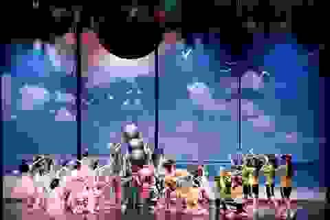 """70 vũ công tham gia vở vũ kịch """"Chiến dịch giải cứu trái đất"""""""