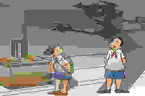 Đừng để đằng sau cánh cửa trường học là những nỗi bất an